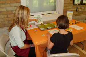 Nature Stations at Legacy conducted by interns